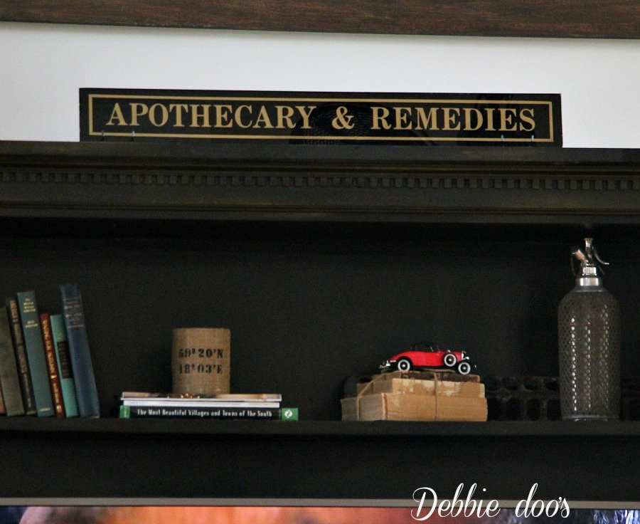 Apothocary and remedies sign