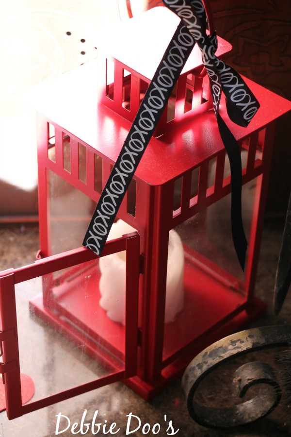 Red lantern from IKEA