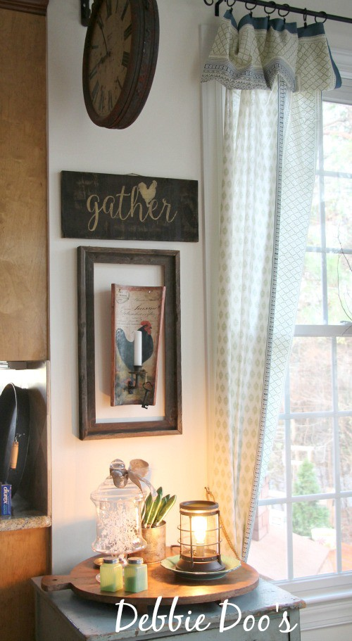 Rustic Rooster Diy Sign Out Of Scrap Wood