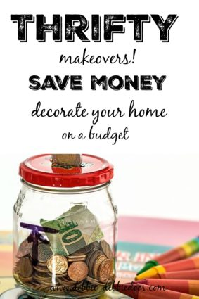 Thrifty makeovers that anyone can do. Save money, and be able to afford to decorate your home