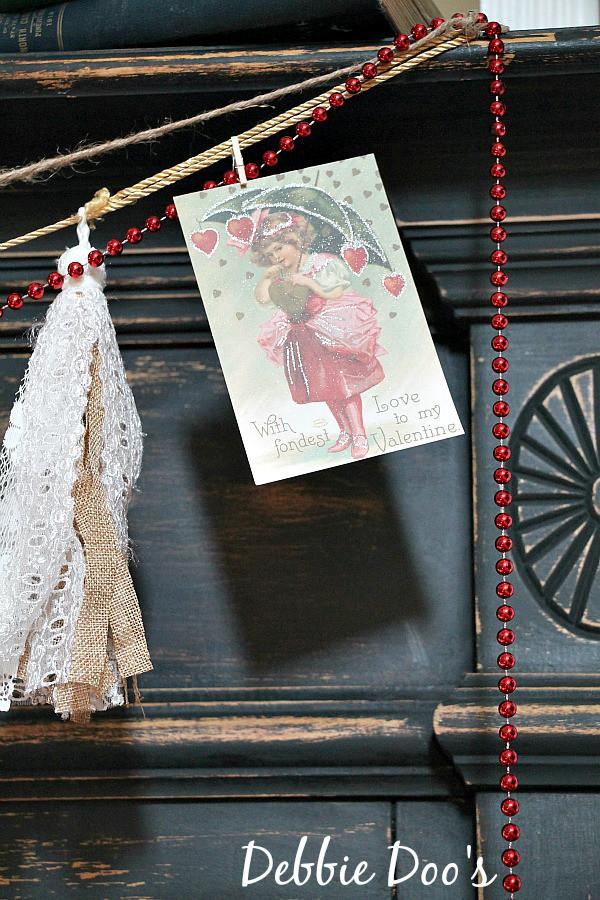 Vintage Valentine post cards