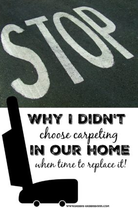 Why you shouldn't have carpeting in your home. When time for replacing, consider this!