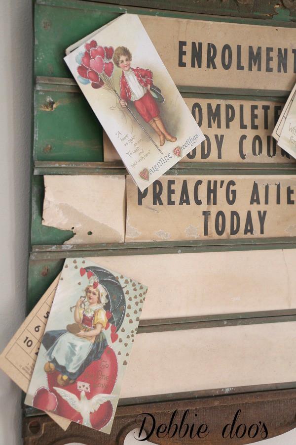 old church bulletin