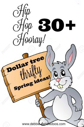 Dollar Tree Thrifty Spring Craft And Home Decor Ideas Debbiedoos