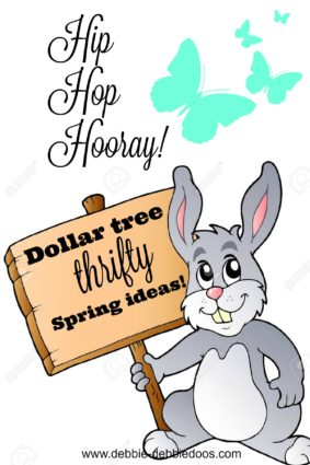 Dollar tree thrifty home decor craft and more ideas for Spring
