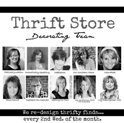 Thrift store decor team 2016
