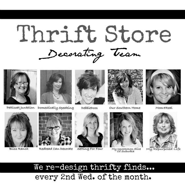 Thrift store decor team 2016