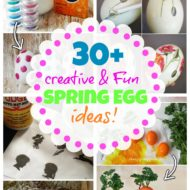 30+ unique spring Easter egg ideas