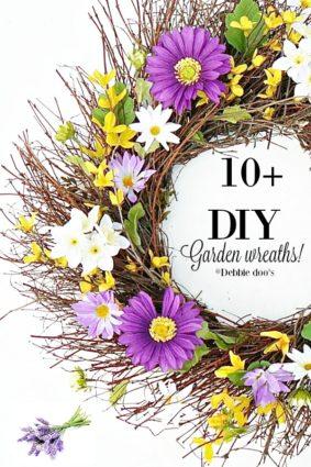 10+ Garden wreaths