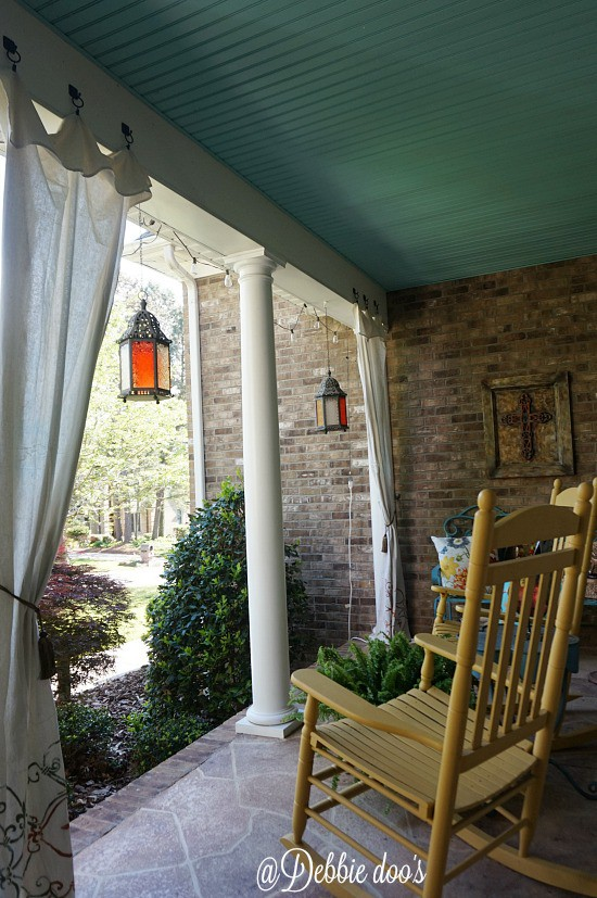Southern porch decorating ideas