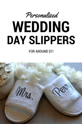 WEDDING DAY SLIPPERS PIN
