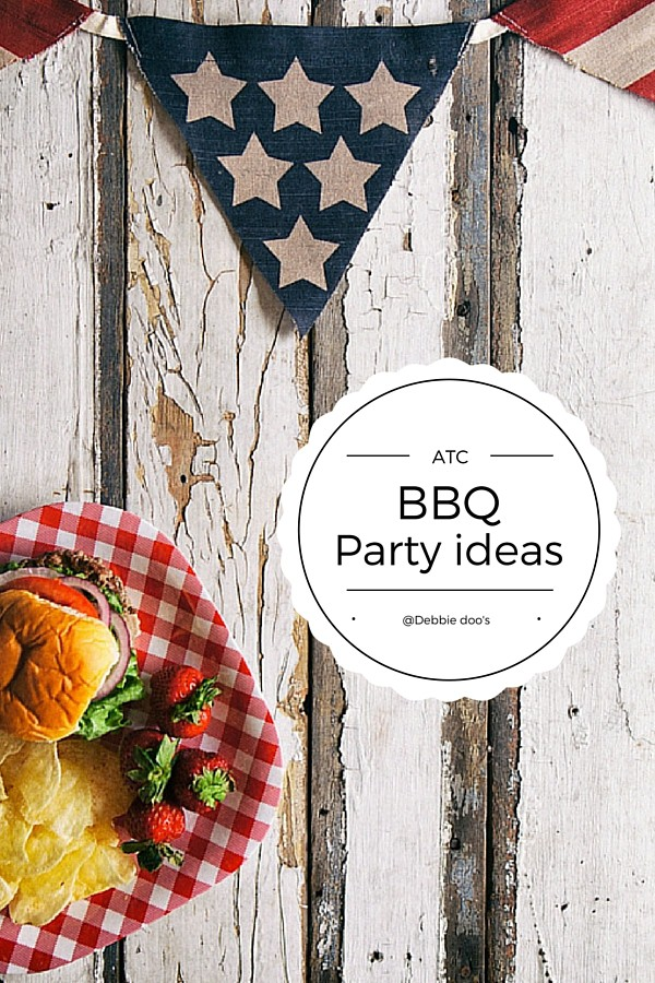 50+ BBQ party recipe and decor ideas