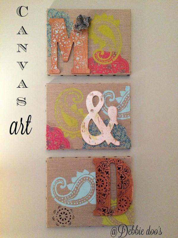 15 Diy Canvas Art Ideas Debbiedoos