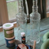 Crafting with dollar tree bottles