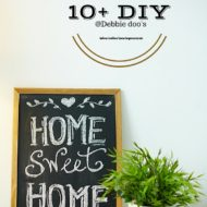 10+Diy indoor/outdoor home improvement ideas