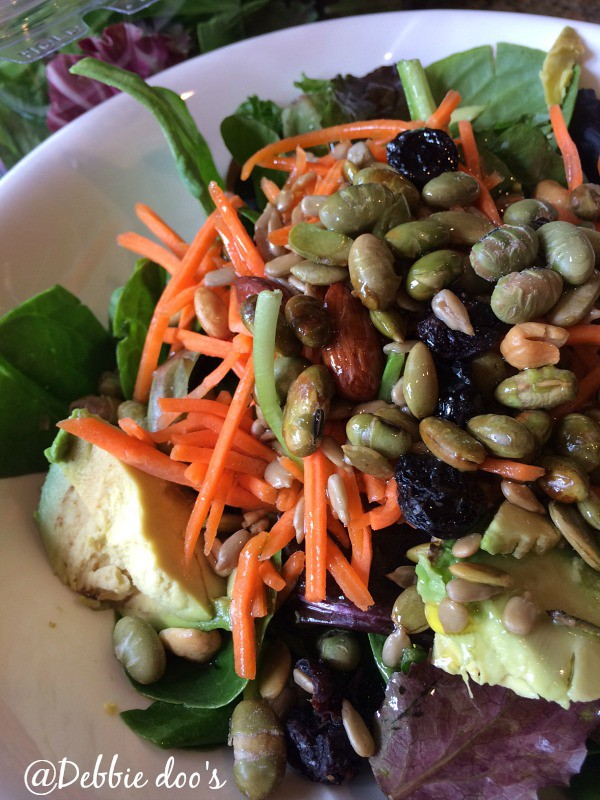 Delicous and healthy salad for dieters
