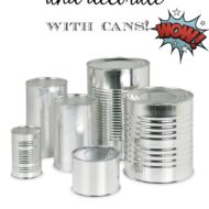 How to craft with cans