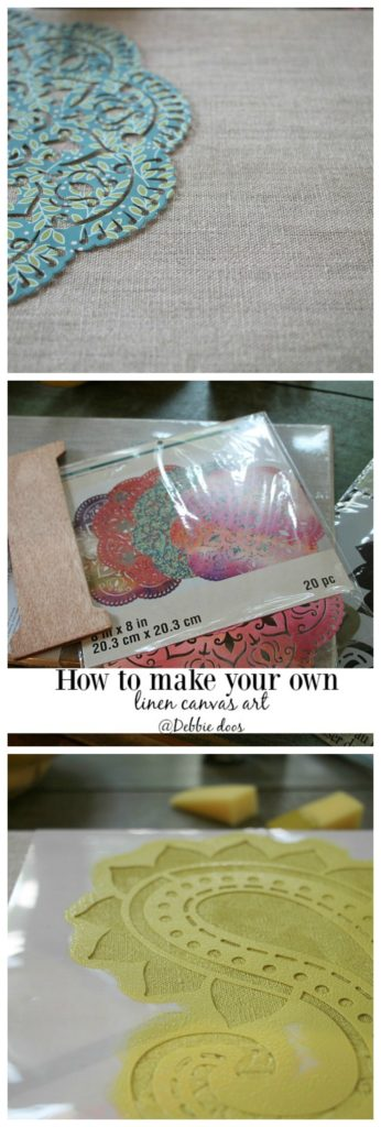 How to make your own fun and unque canvas art