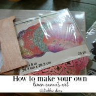 How to make your own canvas art
