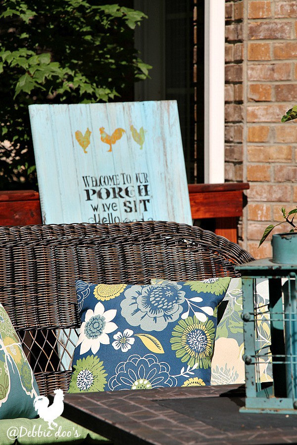 Welcome summer porch decorating ideas