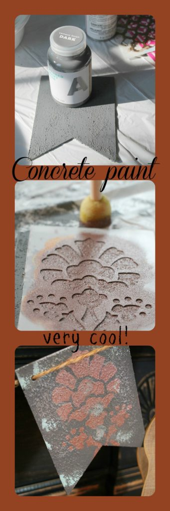 Concrete paint and how to use it
