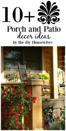 Country, modern, traditional and more porches and patio decorating ideas