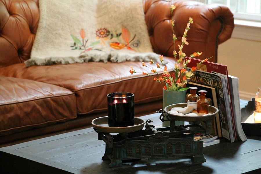 Decorating with vintage decor