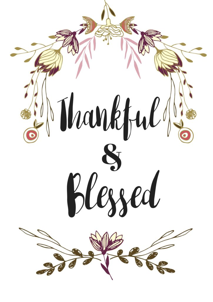 Impeccable image intended for thankful printable