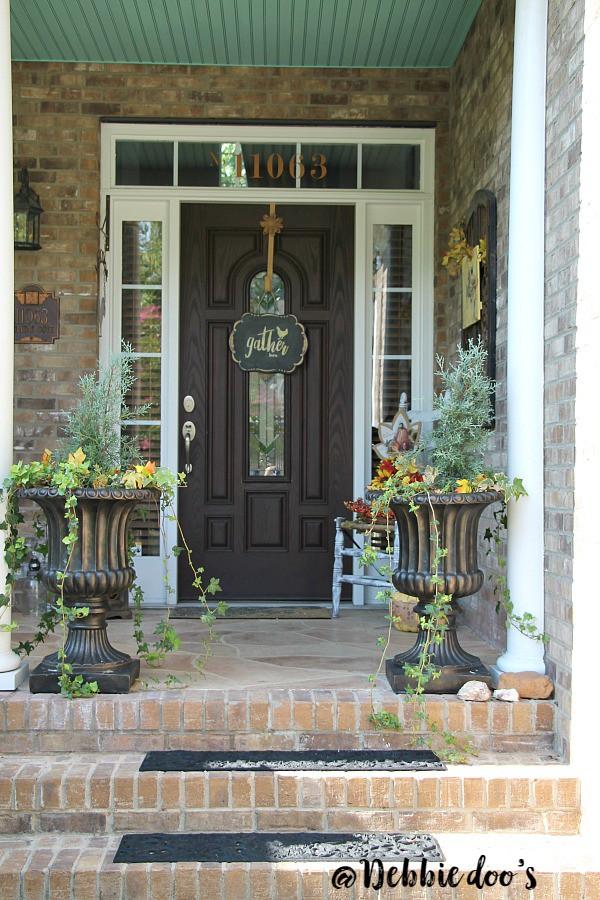Autumn porch decorating ideas