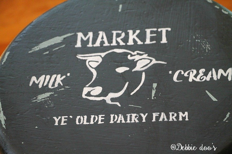 Farmhouse cow stencil by Debbiedoo's