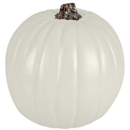 Faux white pumpkin