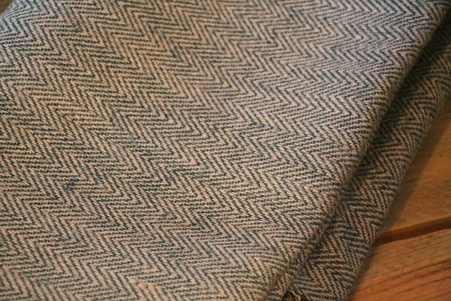 Twill burlap fabric
