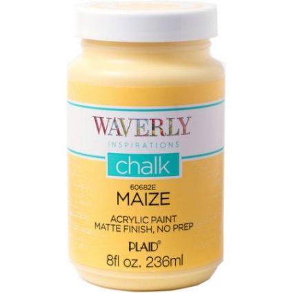 Waverly maze color chalk paint