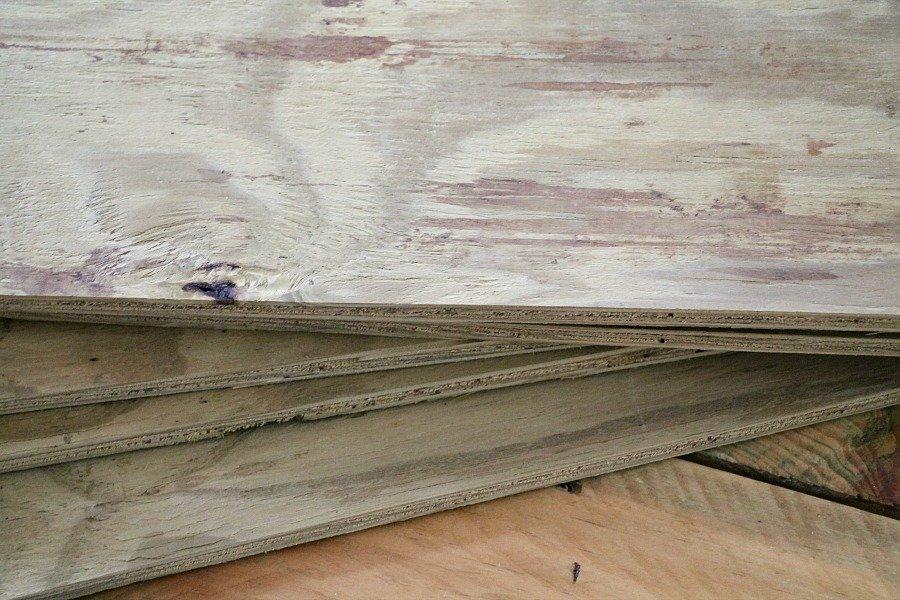 Wood cut at lowes