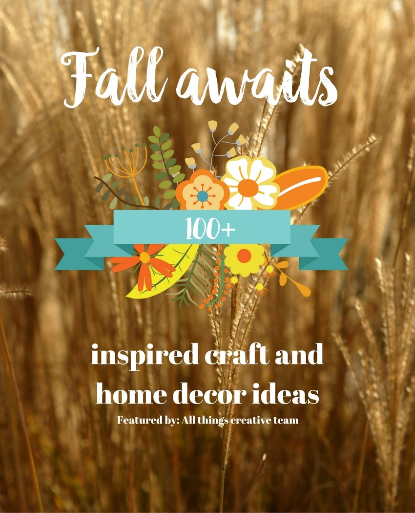 100 Fall Awaits Craft Home And Decor Ideas Debbiedoos