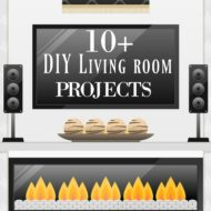 DIY housewives presents Living room DIY ideas