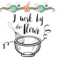 I work by the flour/ free kitchen printable