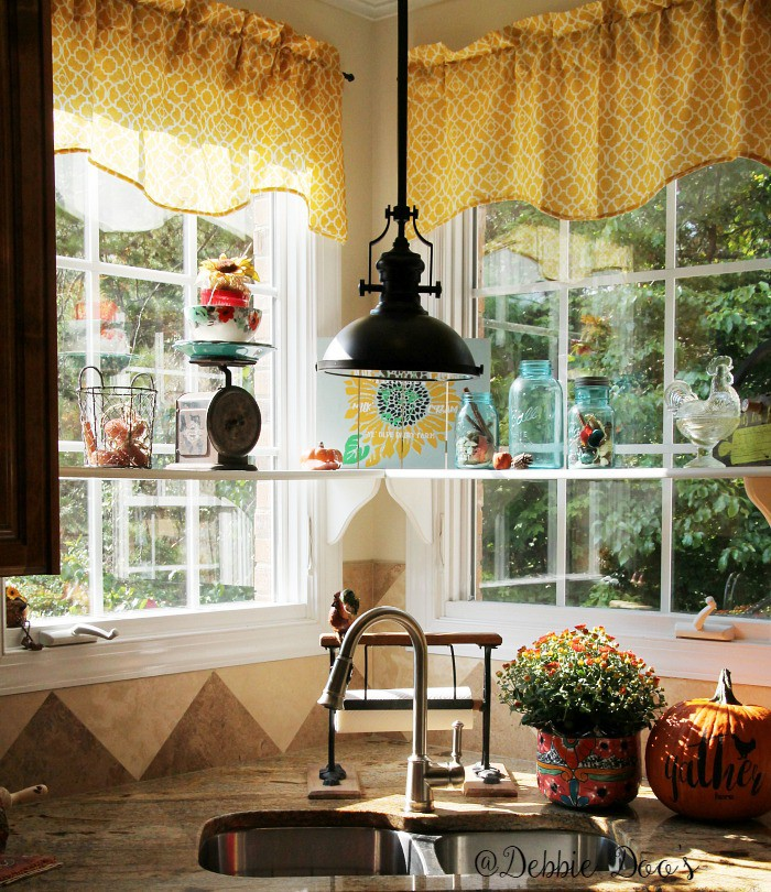 bright-and-cheery-corner-kitchen-window-with-shelves