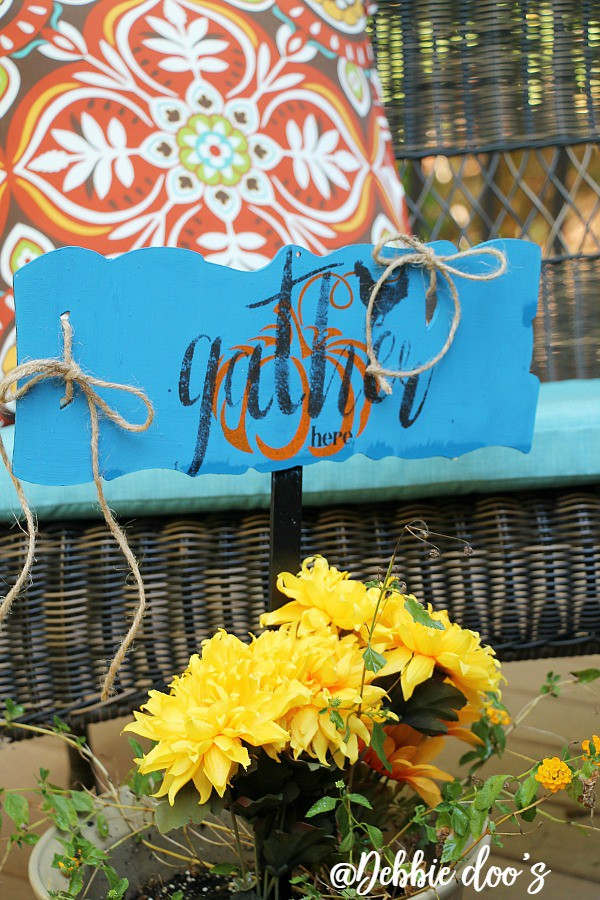 gather-here-dollar-tree-sign-makeover-with-debbiedoos-stencil