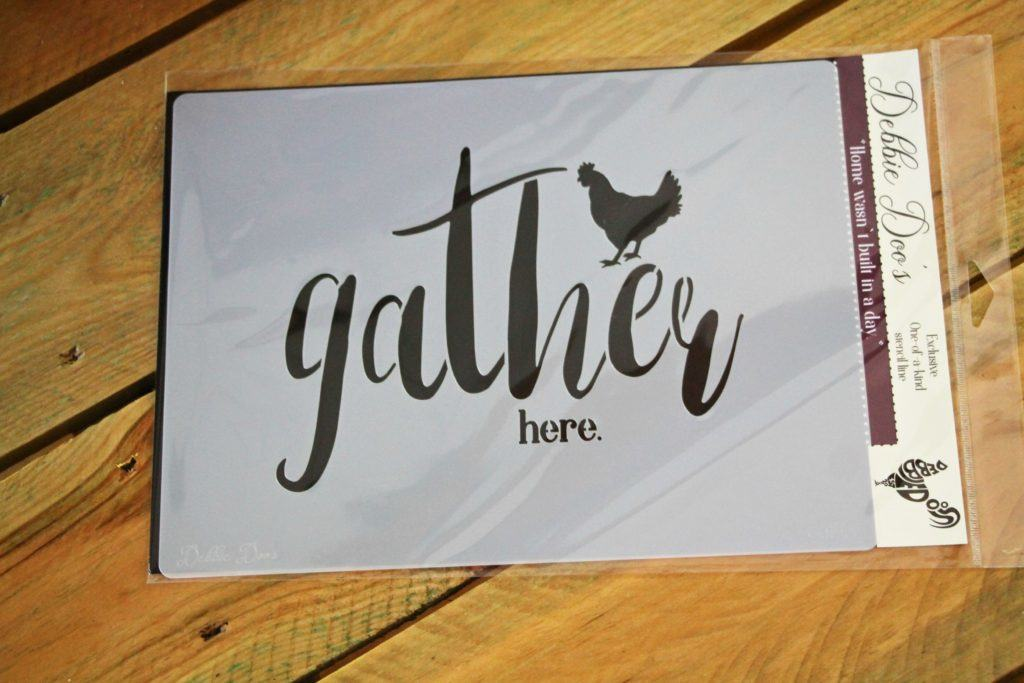 Gather here stencil package