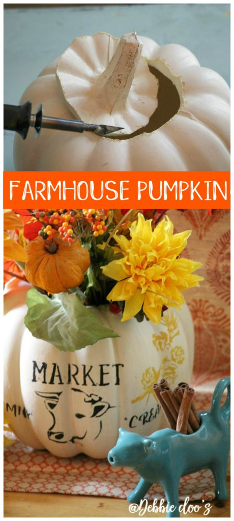 faux-farmhouse-pumpkin-centerpiece-idea-using-debbiedoos-market-cow-stencil