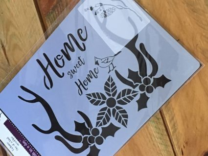 Debbiedoo's home sweet home stencil