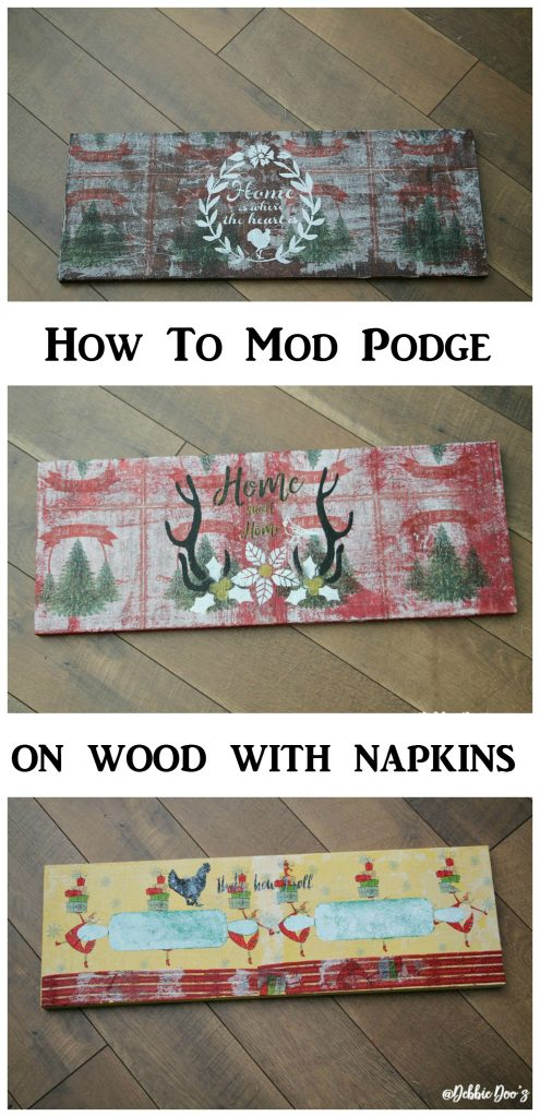 how-to-make-rustic-signs-with-napkins-mod-podge-and-stenciled-with-debbiedoos-custom-stencil-line
