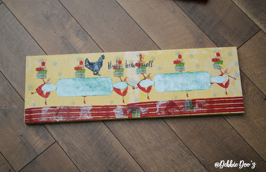 napkin-and-mod-podge-whimsical-sign