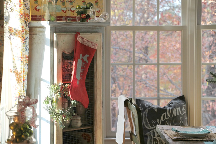 stocking-hung-in-the-kitchen