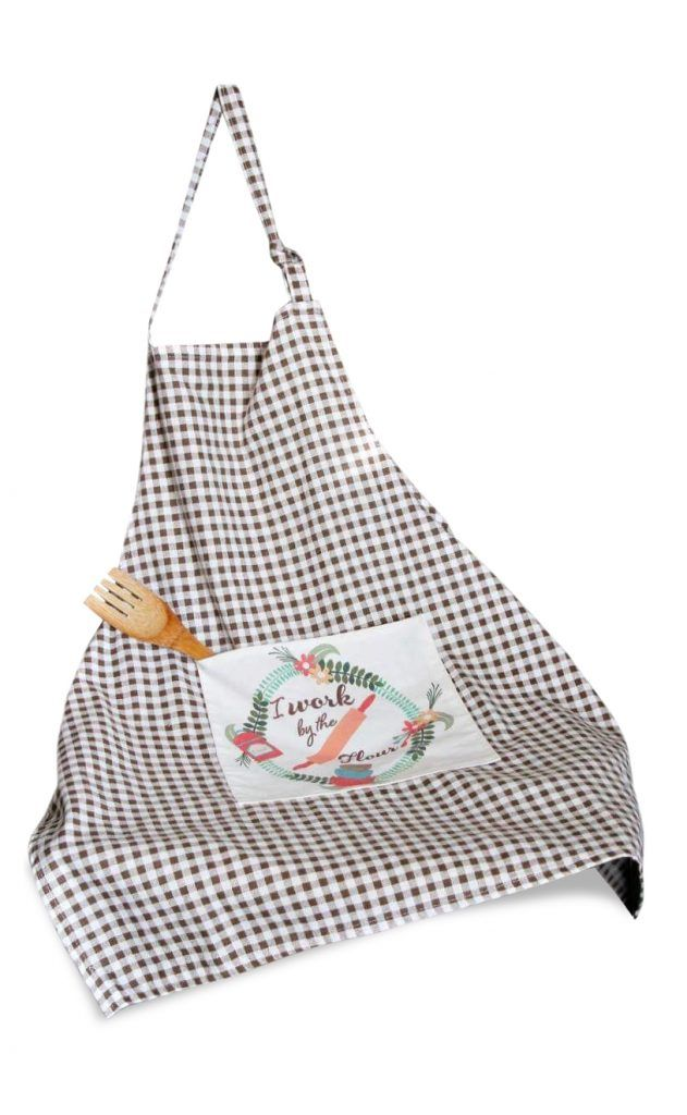 Women's apron with pockets