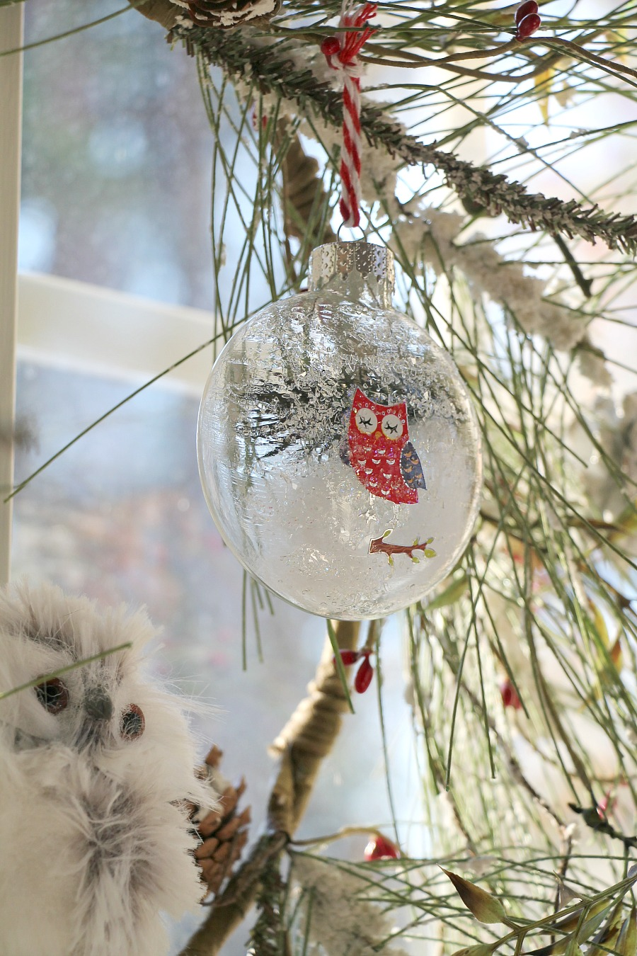 Diy Glass Owl Ornaments