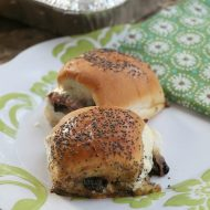 How to make roast beef sliders