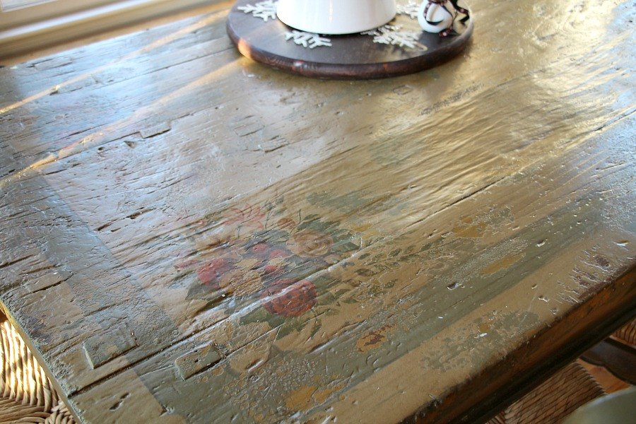 old-primitive-french-country-table