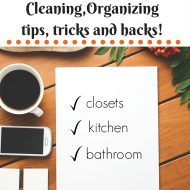 100 cleaning and organizing tips